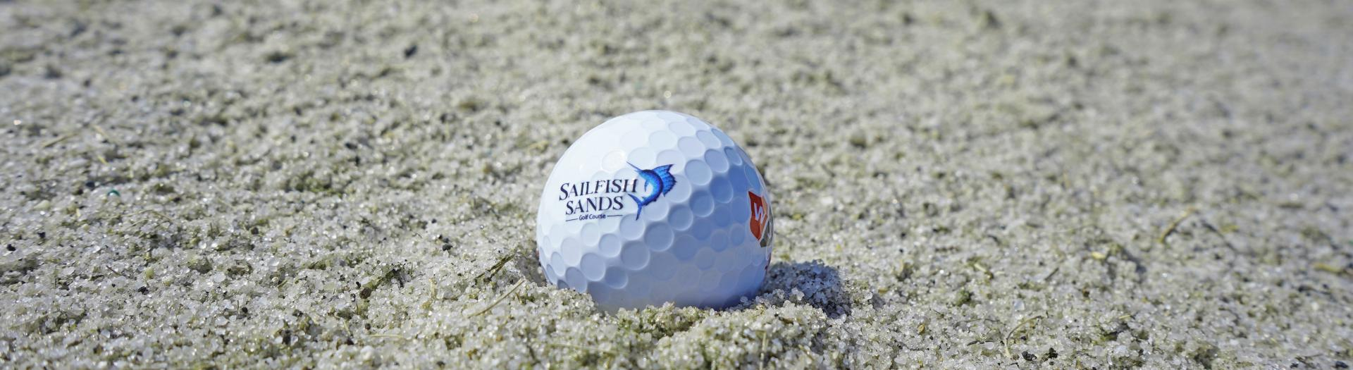 Sailfish Sands golf ball