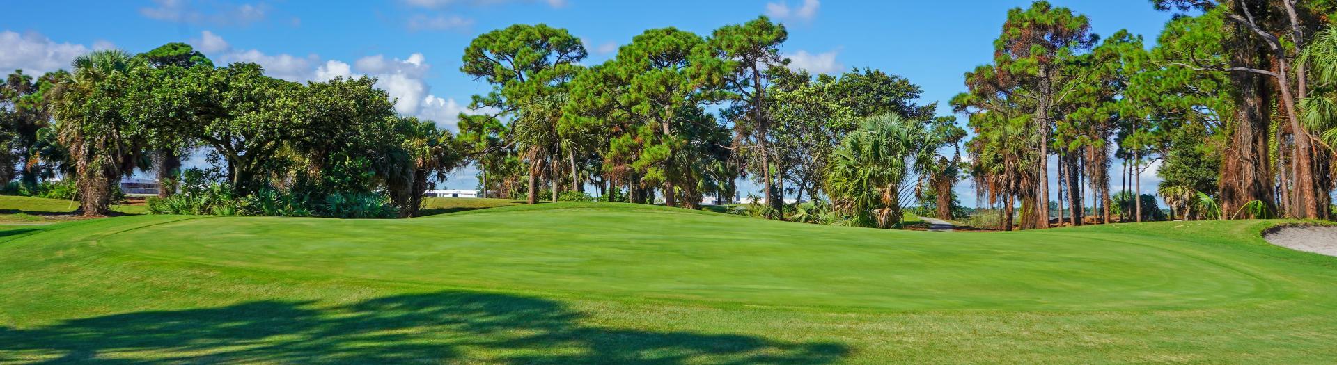 Hole #6 on Sailfish Sands Golf Course