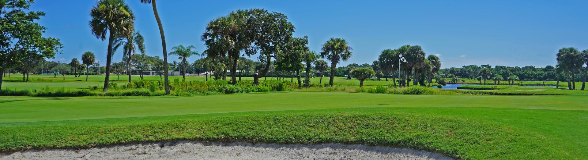 Reversible 9-Hole Course at Sailfish Sands Golf Course