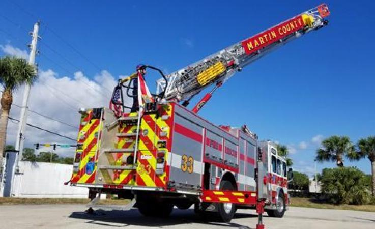 Martin County Fire Engine
