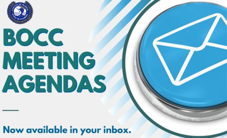 BOCC Meeting Agendas