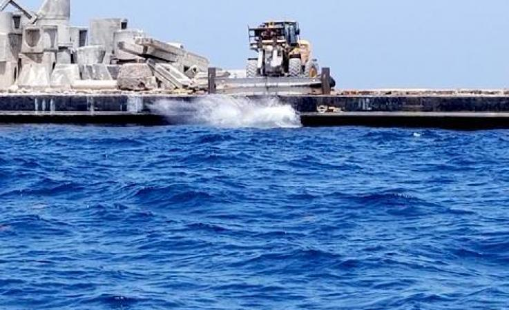 Artificial reef Deployment