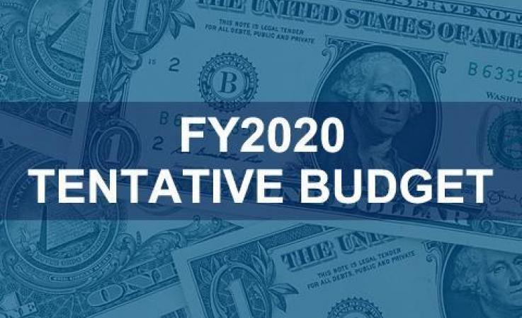 FY2020 Tentative Budget