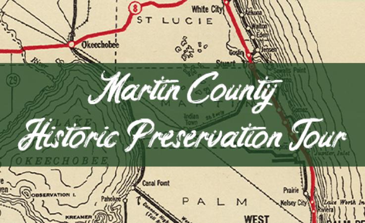 Martin County Historic Preservation Tour Map