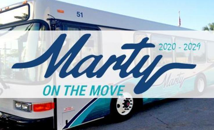 Marty Transit Bus