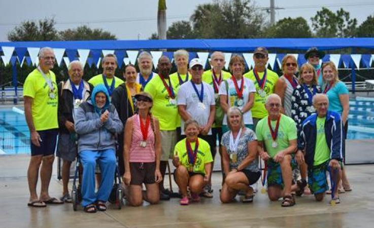 Senior Games Group Photo