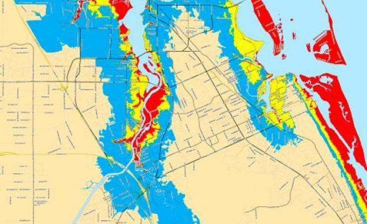 Storm Surge Zones Map