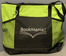Tote bag with bookmania logo