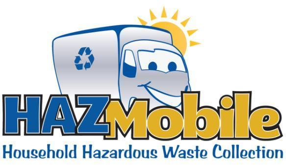 A graphic of the hazmobile logo