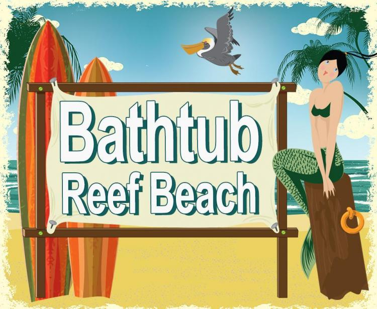 BathTub Beach Logo