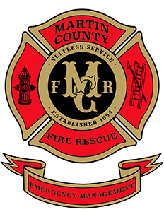 Martin County Fire Rescue Logo