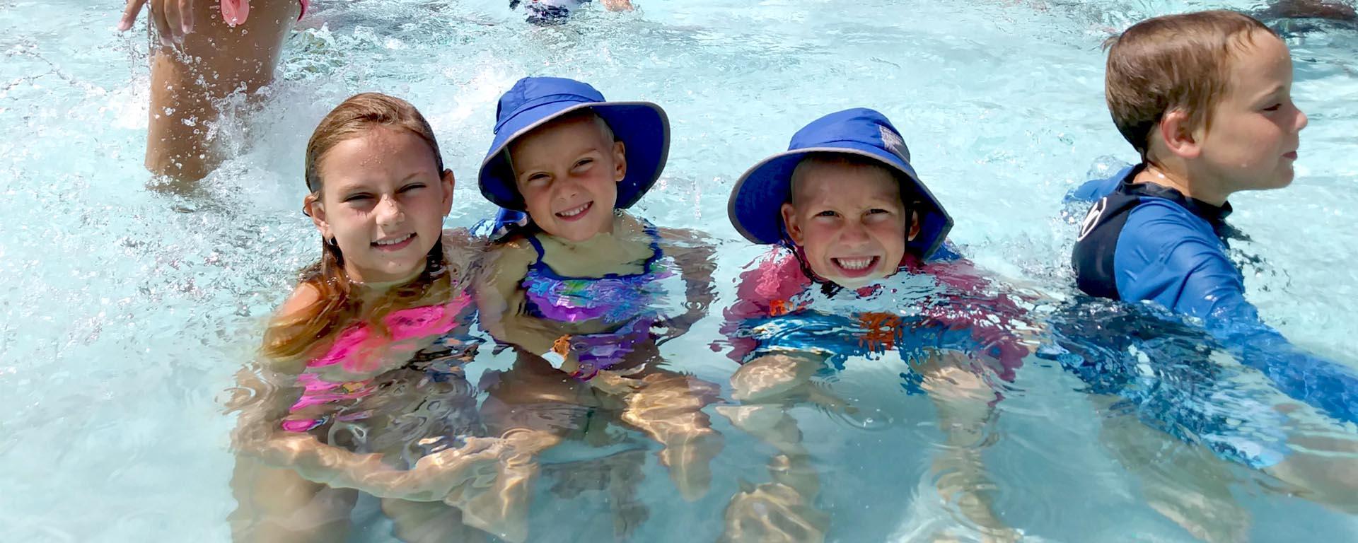 Kids swimming at Sailfish Splash Waterpark